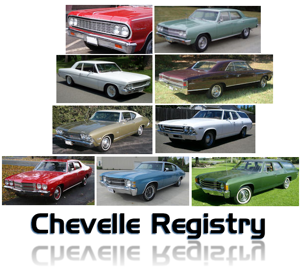 INTERNATIONAL CHEVELLE REGISTRY © - All Rights Reserved